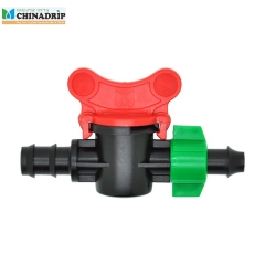 offtake mini valve from PE pipe with screw nut