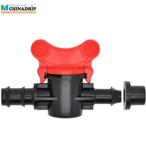 offtake mini valve from PVC pipe with rubber