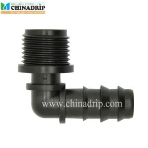 16mm pe pipe elbow connector